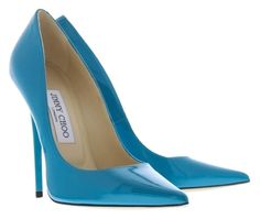 Jimmy Choo Anouk Patent Azora Turquoise Pumps. Get the must-have pumps of this season! These Jimmy Choo Anouk Patent Azora Turquoise Pumps are a top 10 member favorite on Tradesy. Save on yours before they're sold out!