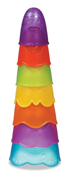 Munchkin Stack and Spill Bath Toy
