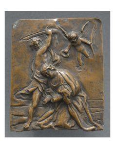 Décollation d'une sainte agenouillée - Musée national de la Renaissance (Ecouen)