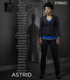 Walter's names for Astrid!!