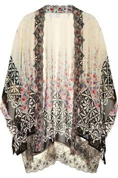 Sadly I want a kimono... Anna Sui