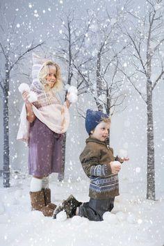 Memini by Kristine Vikse AW/15-16 Beautiful children`s wear for babies and kids Winter wonderland - frozen - kids editorial Childrens photography