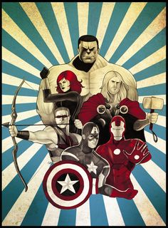 Avengers Assembled by Chrissie Zullo