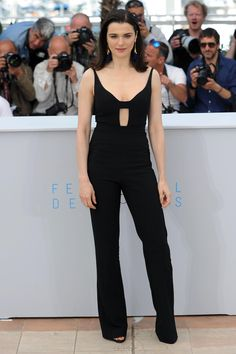 Cannes Film Festival 2015: All of the Best Red Carpet Dresses - Rachel Weisz in Narciso Rodriquez   StyleCaster