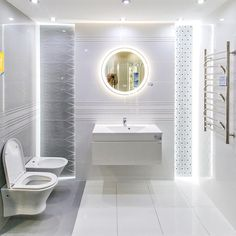 Elegancka aranżacja łazienki w kolekcji Tubądzin Abisso - zdjęcie od BLU salon łazienek Włocławek Bathroom Renos, Master Bathroom, Bathrooms, Bathtub, Wall Decor, House Design, Interior Design, Space, Home Decor