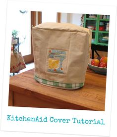 Super cute Kitchenaid Cover by sew-ichigo: Cover up your KitchenAid