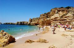 Praia da Coelha em Albufeira - http://praiaportugal.com/praia-da-coelha-em-albufeira/
