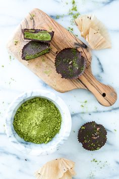 Chocolate Matcha Butter Cups | Keepin' it Kind