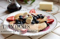 Skinny Bites: Oatmeal and Yogurt Pancakes
