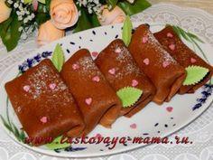 Блинчики шоколадные рецепт