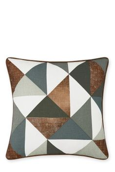 Buy Copper Geo Cushion from the Next UK online shop