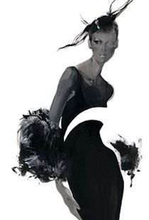 Fashion illustrator David Downton ( born 1 9 5 9 )