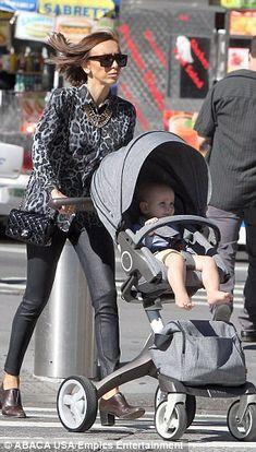 Giuliana Rancic pushes Stokke Xplory on her family strolls!