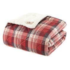 Woolrich Ridley Softspun Down-Alternative Throw/