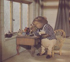 """Kenneth Grahame Society - Ratty from the stop-action series of """"The Wind in the Willows"""" by Cosgrove Hall"""