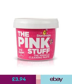Cleaning Products & Supplies Chemico Stardrops The Pink Stuff Household Safe Cleaner Paste Cleaning & Garden New Home Essentials, Pink Stuff, Clean Freak, Natural Cleaning Products, Things To Know, Cleaning Hacks, Packaging Design, Helpful Hints, Household