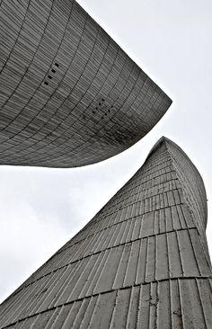 Château d'eau (Water Tower), 1963-1971, Valence, France   André Gomis, Tloupas Philolaos