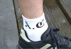 Motyw kibicowski na skarpetach 'ACAB' ---> Streetwear shop: odzież uliczna, kibicowska i patriotyczna / Przepnij Pina!