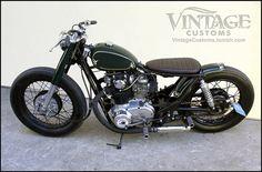 'The Bullitt' Yamaha XS 650 by Vintage Customs