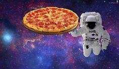 pizza în spațiu