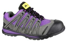 c60a85e0a70 Amblers Safety FS108c ladies  metal free safety trainer. Composite toe cap  and midsole protection