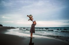 Breathe - Christa 5 months pregnant in Las Pocitas.