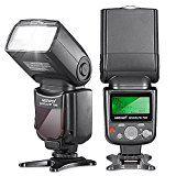 sparen25.info , sparen25.com#8: Neewer 10070994 VK750 Speedlite II-i-TTL-Blitz mit LCD-Display für Nikon SLR-Digitalkamerasparen25.de