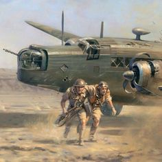 Wellington crash-landing in North Africa ; can you spot the minor flaw in this picture? Ww2 Aircraft, Fighter Aircraft, Military Aircraft, Military Art, Military History, Wellington Bomber, War Thunder, Aircraft Painting, Airplane Art