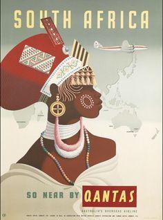 South Africa - Qantas
