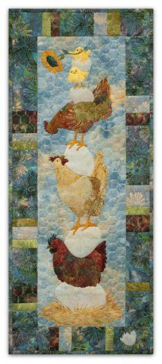 PineNeedles.com : Which Came First? quilt by McKenna Ryan
