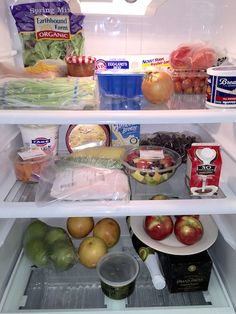 "Take a look inside Dr Jordan Metzl's fridge, which he characterizes as ""not too bad for a single dude."" #RefrigeratorLookBook #healthycelebs"