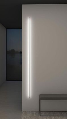 Thin line indirect wall light by sonneman a way of light 2814 16 3 Architectural Lighting Design, Modern Lighting Design, Interior Lighting Design, Interior Wall Lights, Modern Exterior Lighting, Interior Walls, Led Light Design, Architectural Presentation, Architectural Models