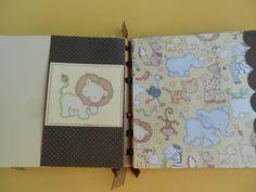 Baby scrapbook album pre made Moms brag by PreciousPagesBySusan