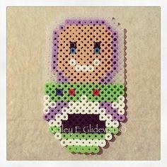 Toy Story Buzz Lightyear perler beads by ashleyeglidewell