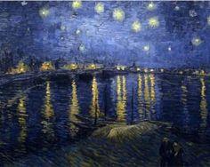 The Starry Night - Vincent van Gogh, 1888