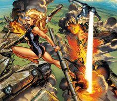 #Namora #Atlas #Marvel by Carlo Pagulayan