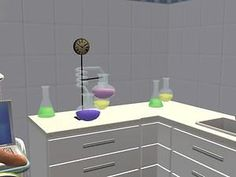 Mod The Sims - Chemistry Lab Stuff