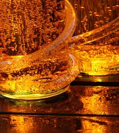 IMG_4766 Splash and Fizz by Alisonashton1, via Flickr   earth tones + brown amber gold yellow + waterdrops