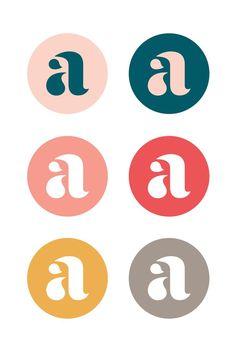Frauengeschichten: Neue Visual Identity für Allas – Expolore the best and the special ideas about Corporate branding Logo Branding, Logo And Identity, Brand Identity Design, Business Branding, Visual Identity, Corporate Branding, Branding Website, Brand Design, S Logo Design