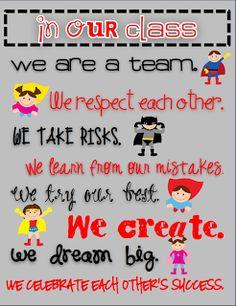 Teaming Up To Teach: Superhero Classroom Theme....and a freebie!