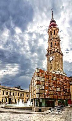 Plaza de las Catedrales, Zaragoza España