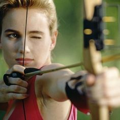 Archery athletes need to keep their shoulder muscles strong.