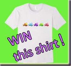 Add some fun to your springtime wardrobe! Light-hearted, and a little on the sporty side, this Tee features vintage roller skates in fun pastel colors. Enter for your chance to win this Free T-Shirt!  https://gleam.io/fb/DC1Jk  #win #free #tshirt #giveaway