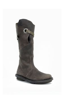 Trippen Shoes Warrior Closed Boot, Smog 37