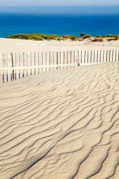 Playa de Valdevaqueros, Parque Natural Del Estrecho. Valdevaqueros, Tarifa (Cádiz), by @cntraveler