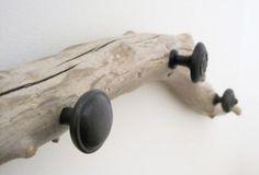 kapstok houten tak
