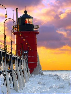 South Haven Lighthouse Michigan,