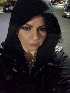 After Party Selfie back to all black just like my soul without you Llevell