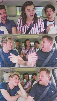 1D Carpool Karaoke | ctto: @stylinsonphones