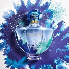 Shalimar Souffle de Parfum honours its Indian roots and gets adorned by a colored powdered-like artwork inspired by the festival of Holi. A joyful bottle of  in a limited edition that will please #Shalimar lovers.
